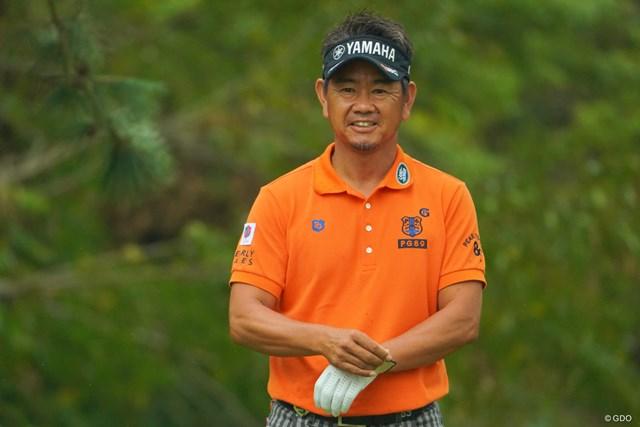 藤田寛之は首位に1打差の2位タイに浮上した