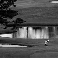 水墨画 2019年 スタンレーレディスゴルフトーナメント 初日 イ・ボミ