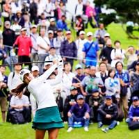 人気は健在 2019年 スタンレーレディスゴルフトーナメント 初日 イ・ボミ