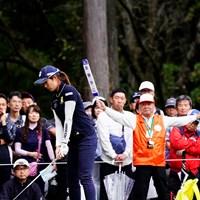 お静かにっ! 2019年 スタンレーレディスゴルフトーナメント 初日 大里桃子