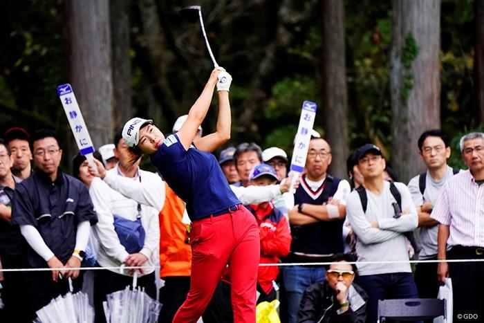 まだお静かにっ! 2019年 スタンレーレディスゴルフトーナメント 初日 渋野日向子