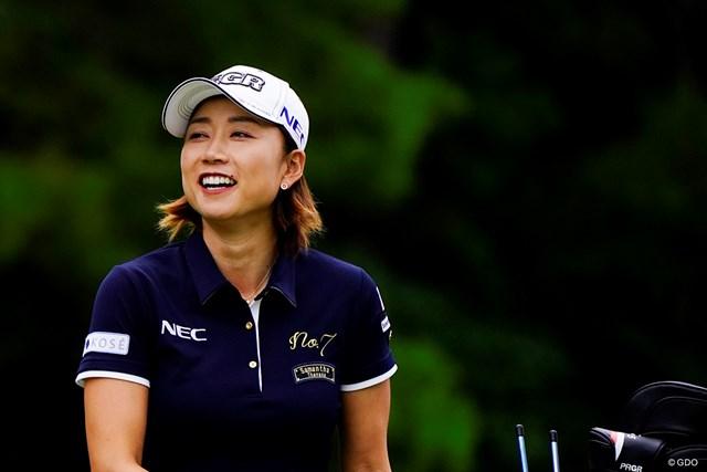 2019年 スタンレーレディスゴルフトーナメント 初日 原江里菜 SMILES