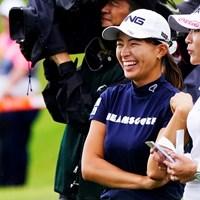 渋野日向子はイ・ボミと初の同組でプレーした 2019年 スタンレーレディスゴルフトーナメント 初日 渋野日向子