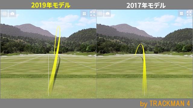 ツアーB JGR フェアウェイウッド/ヘッドスピード別試打 ボールの高さも大きく違う結果に
