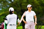 2019年 スタンレーレディスゴルフトーナメント 初日 神谷そら