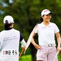 素顔は明るい16歳。今はショートゲームに力を入れる 2019年 スタンレーレディスゴルフトーナメント 初日 神谷そら