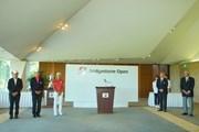 2019年 ブリヂストンオープンゴルフトーナメント 最終日 表彰式