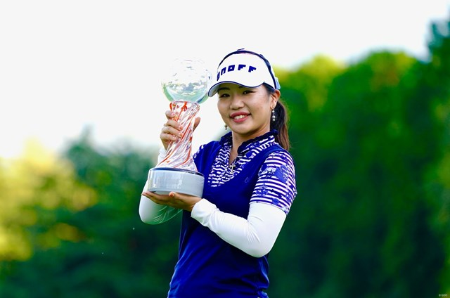 2019年 スタンレーレディスゴルフトーナメント 最終日 黄アルム ツアー通算5勝目を飾った黄アルム