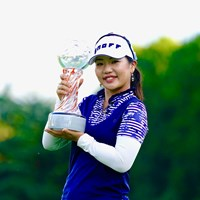 ツアー通算5勝目を飾った黄アルム 2019年 スタンレーレディスゴルフトーナメント 最終日 黄アルム