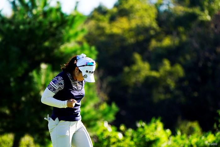 事実上のウイニングパット 2019年 スタンレーレディスゴルフトーナメント 最終日 黄アルム