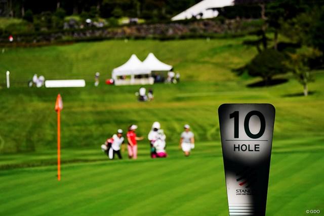 2019年 スタンレーレディスゴルフトーナメント 最終日 10H 今日のキーホール