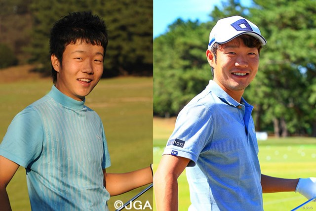 浅地洋佑は当時中学3年生(日本ゴルフ協会提供)。いまやすっかり一家の大黒柱に