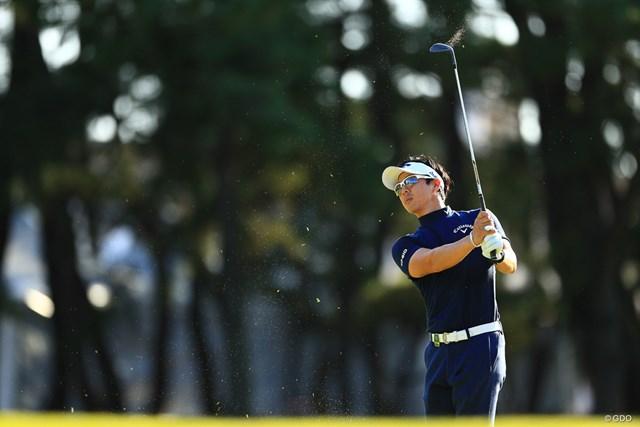 2019年 日本オープンゴルフ選手権 事前 石川遼 石川遼は開幕前日に午後からイン9ホールをプレーした