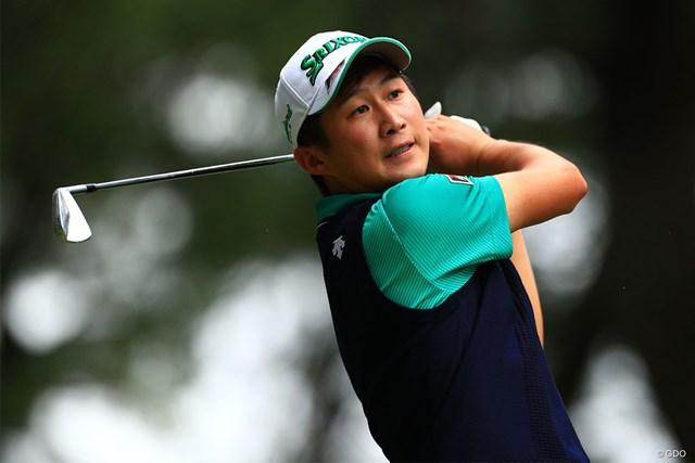 2019年 日本オープンゴルフ選手権競技 初日 星野陸也 2位で初日を終えた星野陸也