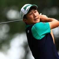 2位で初日を終えた星野陸也 2019年 日本オープンゴルフ選手権競技 初日 星野陸也