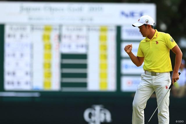 2019年 日本オープンゴルフ選手権競技 初日 金谷拓実 優勝争いの経験もある最強のアマチュア