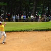 今日はアマチュアにしてメインの組でプレイ 2019年 日本オープンゴルフ選手権競技 初日 金谷拓実