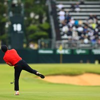 Hole18  セカンドショット 2019年 日本オープンゴルフ選手権競技 初日 崔虎星