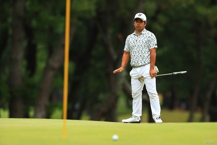 少しでも強く打ってしまえばどこまでも転がるグリーン 2019年 日本オープンゴルフ選手権競技 初日 比嘉一貴