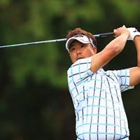 塚田先輩、メジャー2勝目行っちゃいましょう 2019年 日本オープンゴルフ選手権競技 初日 塚田陽亮