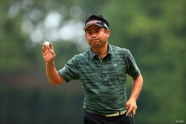 2019年 日本オープンゴルフ選手権競技 初日 池田勇太 Hole17 par3   ナイスパー