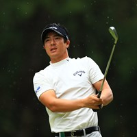 最近雨の写真も好きになってきたな 2019年 日本オープンゴルフ選手権競技 初日 石川遼