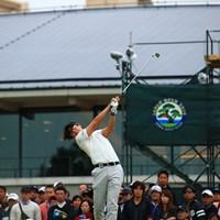 Hole10 par4  ティショット 2019年 日本オープンゴルフ選手権競技 初日 石川遼