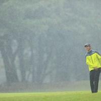 どうこの雨。 帰りたい 2019年 日本オープンゴルフ選手権競技 2日目 星野陸也