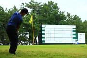 2019年 日本オープンゴルフ選手権競技 2日目 時松隆光