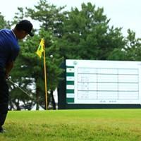 なんか今日はゲンちゃんの後ろばかり 2019年 日本オープンゴルフ選手権競技 2日目 時松隆光