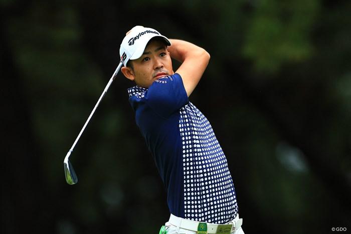 Hole2   par3  ティショット 2019年 日本オープンゴルフ選手権競技 3日目 塩見好輝