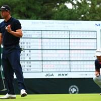 Hole18 par4  パー   2019年 日本オープンゴルフ選手権競技 3日目 アダム・スコット