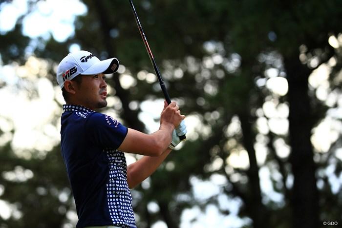 暫定ながら首位を走る塩見好輝 2019年 日本オープンゴルフ選手権競技  3日目 塩見好輝