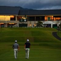今平周吾と塩見好輝は最終日も同組でプレーする 2019年 日本オープンゴルフ選手権競技  3日目 今平周吾 塩見好輝