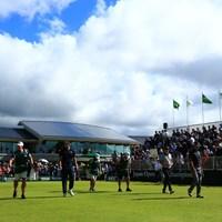アダム様がスタートです!! 2019年 日本オープンゴルフ選手権競技 3日目 アダム・スコット