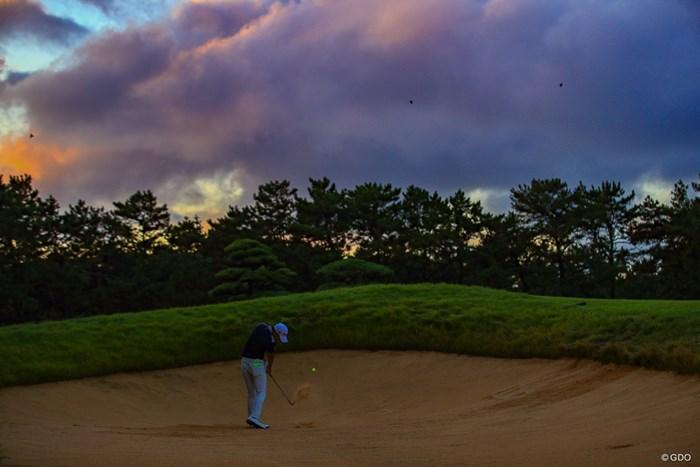 今日は本当に澄んでいて写真が気持ちいい 2019年 日本オープンゴルフ選手権競技 3日目 塩見好輝