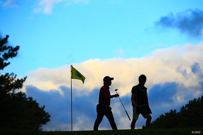 首位を追う 2019年 日本オープンゴルフ選手権競技 3日目 比嘉一貴