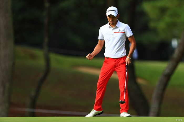 塩見好輝は54ホールを終えてただひとり通算アンダーパー 2019年 日本オープンゴルフ選手権競技  最終日 塩見好輝