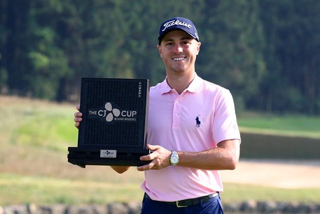 ジャスティン・トーマスが今季初勝利を挙げた(Chung Sung-Jun/Getty Images)