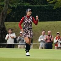 6位タイフィニッシュ 2019年 富士通レディース 最終日 菊地絵理香