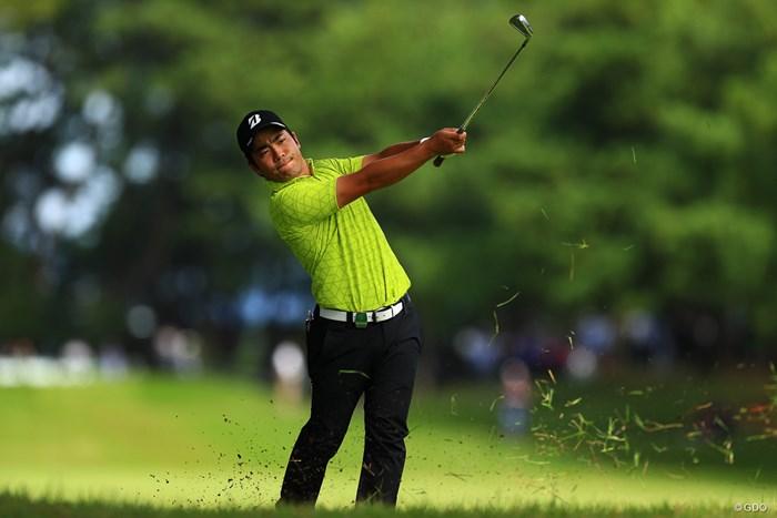 もう少し上位に粘るかと思ったが 2019年 日本オープンゴルフ選手権競技 最終日 比嘉一貴