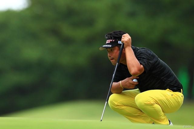 2019年 日本オープンゴルフ選手権競技 最終日 池田勇太 獲物を狙う目だ