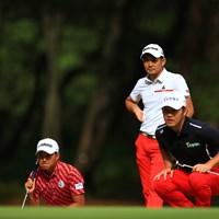 赤が下に渋滞 2019年 日本オープンゴルフ選手権競技 最終日 塩見好輝
