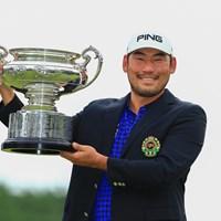 王道のカップ撮影 2019年 日本オープンゴルフ選手権競技 最終日 チャン・キム