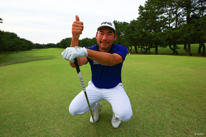 プレーオフに備えていたが優勝が決まり全身の力が抜けたのだろう 2019年 日本オープンゴルフ選手権競技 最終日 チャン・キム