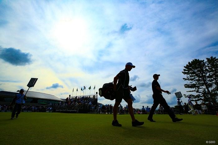 アダム!!行ってらっしゃい!! 2019年 日本オープンゴルフ選手権競技 最終日 アダム・スコット