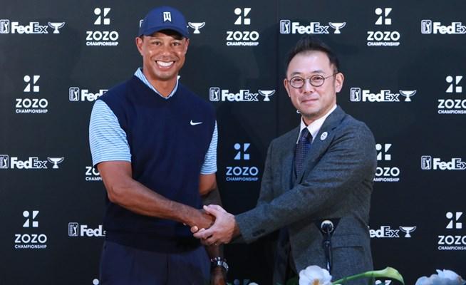 ウッズが13年ぶりに日本参戦「日本はゴルフ熱が高く、とても楽しみ」