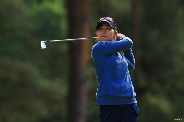 アジアで2週連続優勝を目指すダニエル・カン※写真は2019年AIG全英女子オープン