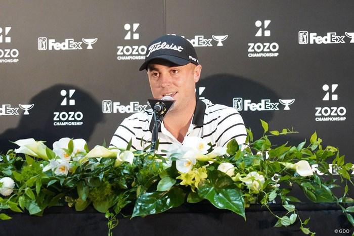 アジアシリーズ2連勝を狙うジャスティン・トーマス ジャスティン・トーマス