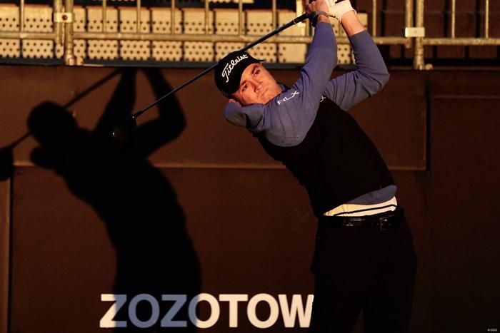 プロアマ戦をプレーしたジャスティン・トーマス 2020年 ZOZOチャンピオンシップ 事前 ジャスティン・トーマス